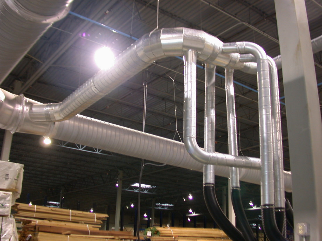 Ductwork and Hoods Process Environments Air Filtration Systems for  #91693A