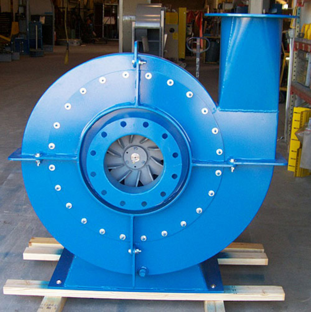 Radial High Pressure Blower : Process environments air filtration systems for industry
