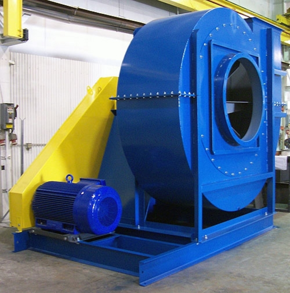 Vacuum Blowers Industrial Process : Industrial exhauster radial open centrifugal fan houston