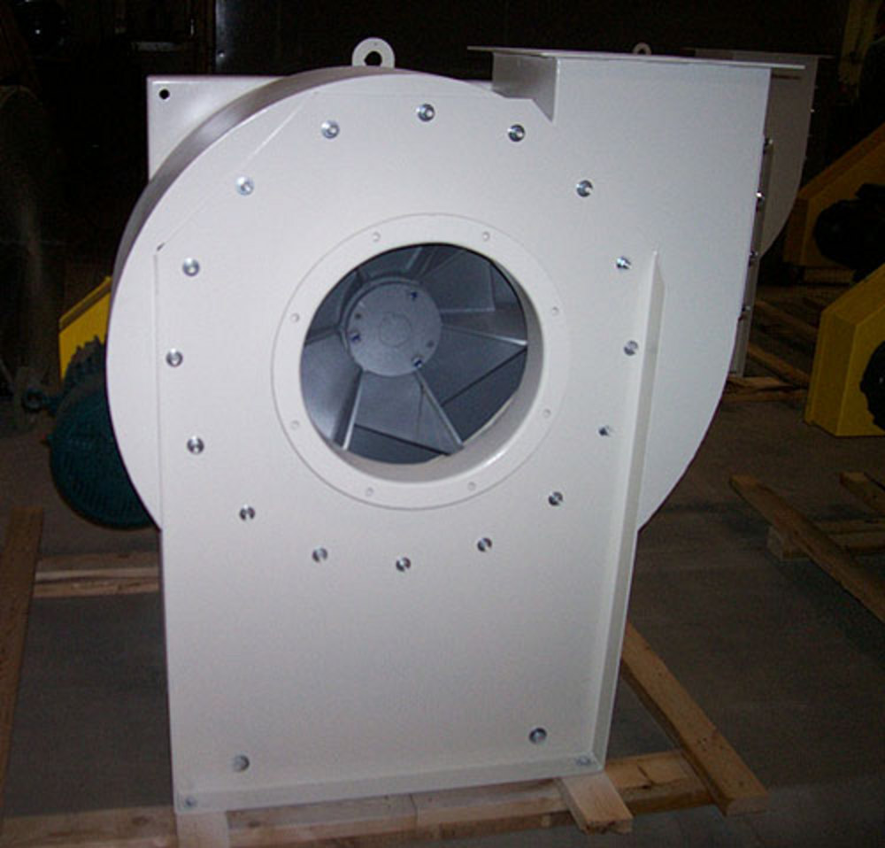Industrial Centrifugal Fans : Industrial exhauster radial wool type centrifugal fan