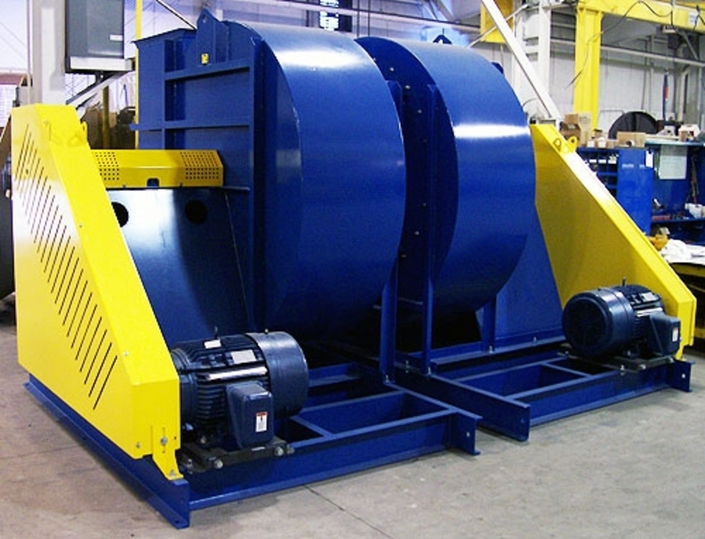 Industrial Size Fans : Industrial exhauster radial open centrifugal fan bayou