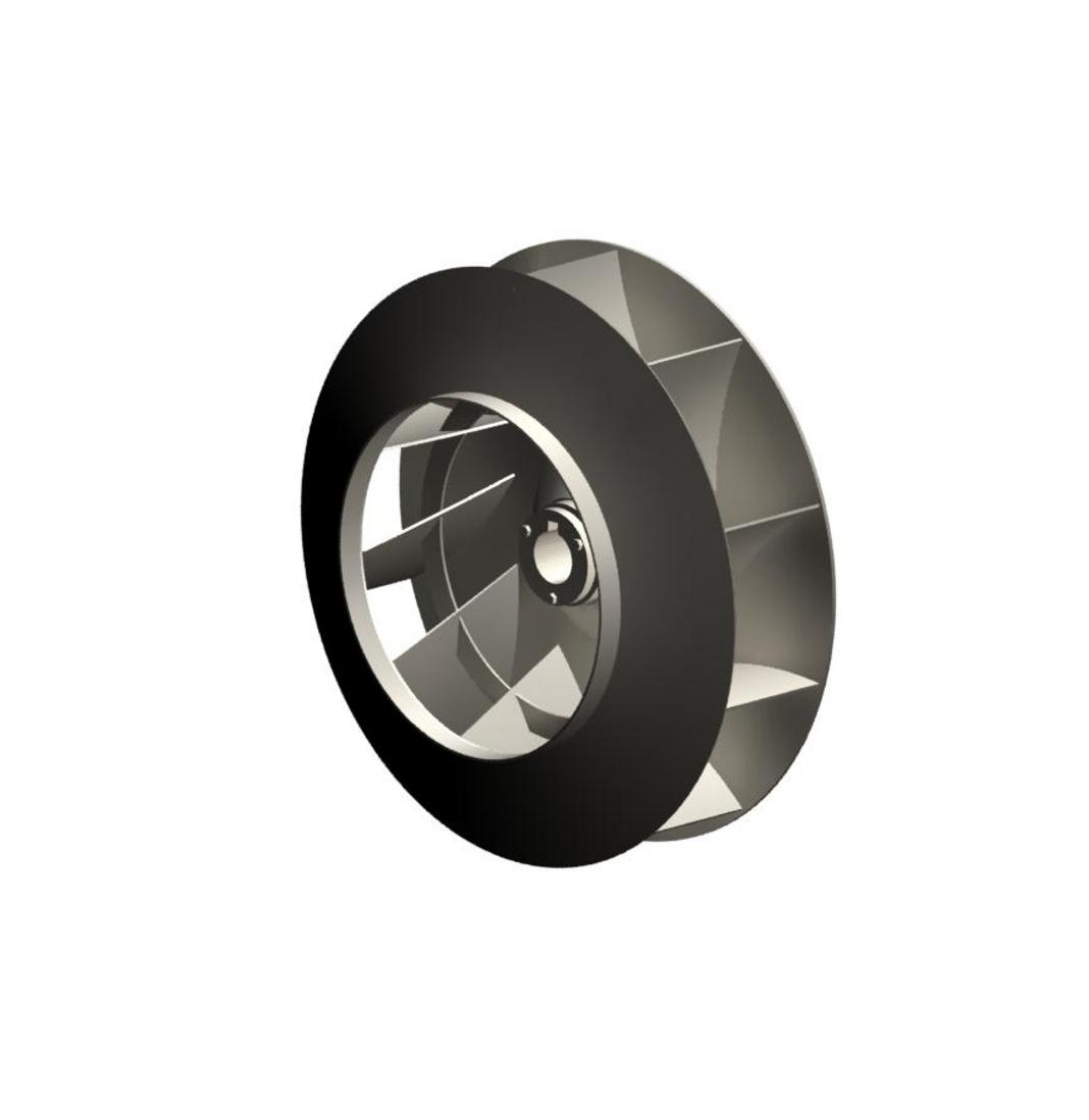 Industrial Exhauster Radial Tip Centrifugal Fan Waller