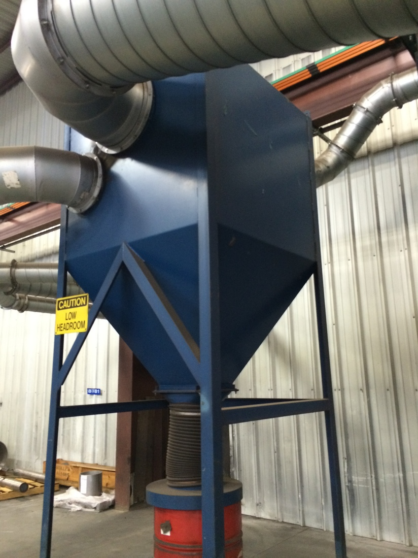Dust Control Fans : Td dust collector houston nassau bay